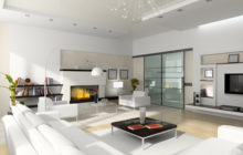 Rejuvenate large family home by decluttering